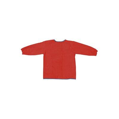 Chenille Kraft Company Long Sleeve Artist Smock Red