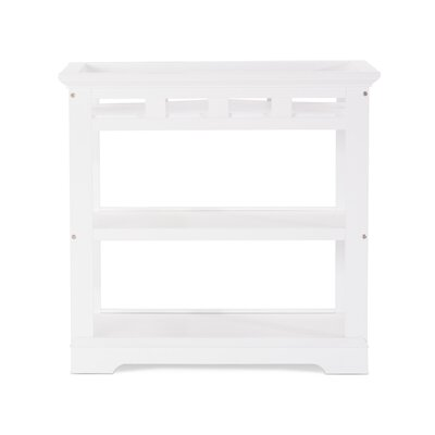 Kayden Changing Table Color: Matte White