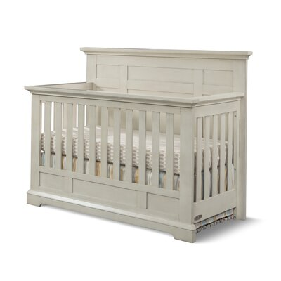 Devon Flat Top 4-in-1 Convertible Crib Color: Vintage Linen