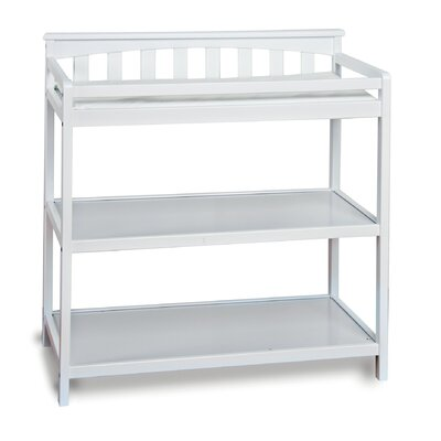 London Flat Top Changing Table Color: Matte White