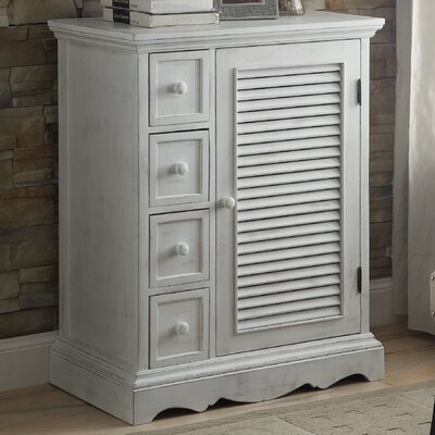 Country Living 4 Drawer Accent Cabinet