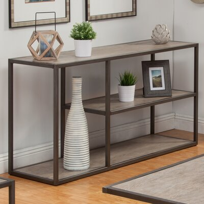 """Colburn Console Table Size: 30"""" H x 60"""" W x 18"""" D"""