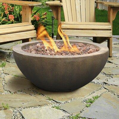 Mondavi Envirostone Propane Fire Pit