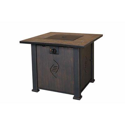 Lari Steel Propane Fire Pit Table