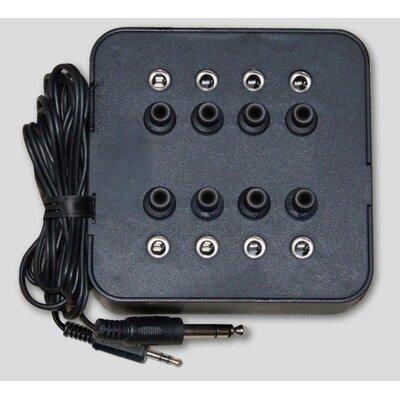 Avid Eight Position Socket Mono Jack Box in Black