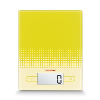 City Precision Digital Food Scale Color: Yellow