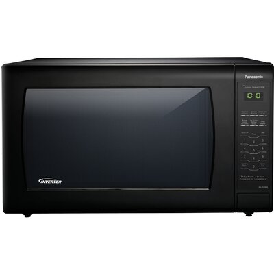 "23"" 2.2 cu.ft. Countertop/Built-In Microwave with Genius Sensor and Inverter Technology Color: Black"