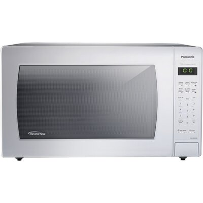 """23"""" 2.2 cu.ft. Countertop/Built-In Microwave with Genius Sensor and Inverter Technology Color: White"""