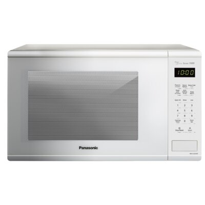 "16"" 1.3 cu.ft. Countertop Microwave Color: White"