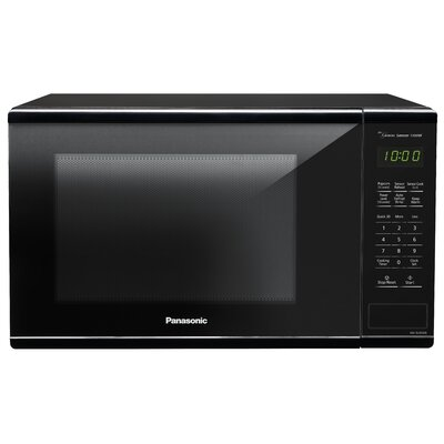 "16"" 1.3 cu.ft. Countertop Microwave Color: Black"