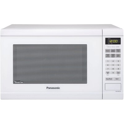 """21"""" 1.2 cu.ft. Countertop Microwave Color: White"""