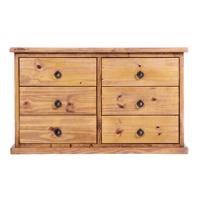 Home & Haus Courta 6 Drawer Chest of Drawers
