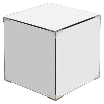 House Additions Mirrored Storage Cube