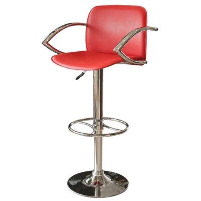 Febland Group Ltd Wishbone Height-Adjustable Bar Stool