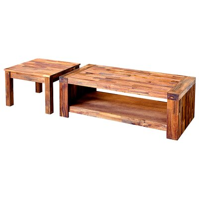 House Additions 2 Piece Coffee Table Set