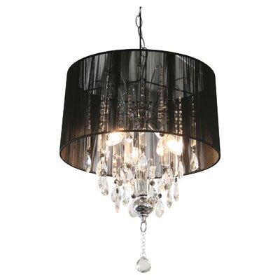 Febland Group Ltd Locus Spencer 3 Light Chandelier