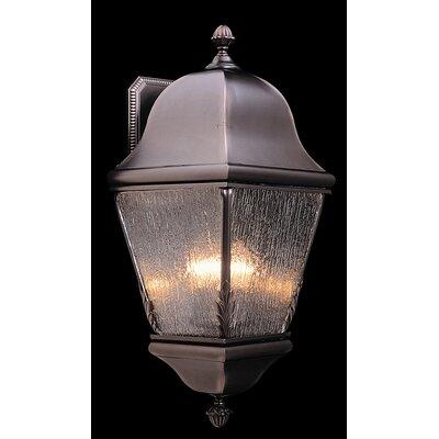 Framburg Coeur de Lion 3 Light Outdoor Wall Lantern