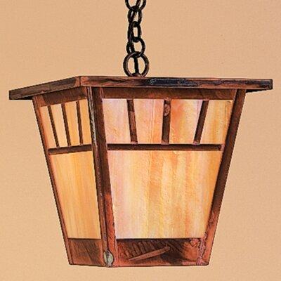 Arroyo Craftsman Savannah 1 Light Outdoor Hanging Lantern
