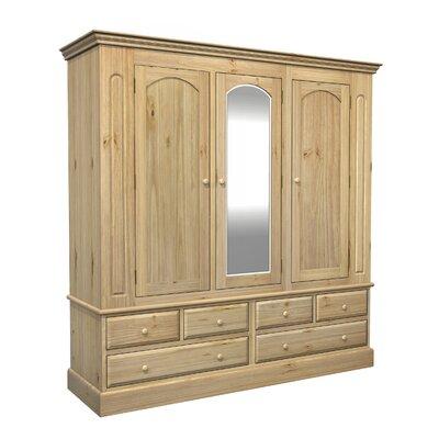 Kelburn Furniture Woodland 3 Door Wardrobe