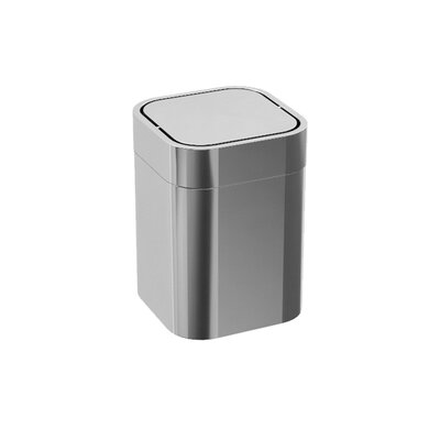 Saon Stainless Steel Swing Top Trash Can
