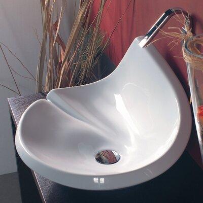 WS Bath Collections Ceramica LVA Vessel Bathroom Sink
