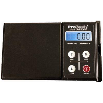 """ProScale Taschenwaage rechteckig """"Credit Card Scale 300"""""""
