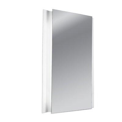 House Additions Glanz 2 Light Bathroom Mirror