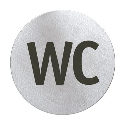 """Signo Door Plate """"WC"""""""