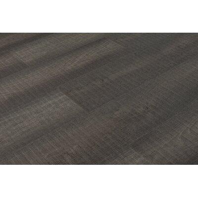 "Chatman 4.75"" x 48"" x 12mm Oak Laminate Flooring in Charcoal"