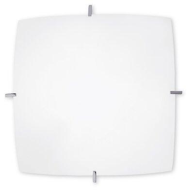 Grok Quattro 1 Light Flush Ceiling Light