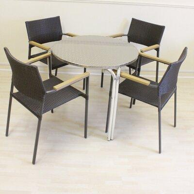 Cozy Bay Bistro 4 Seater Dining Set