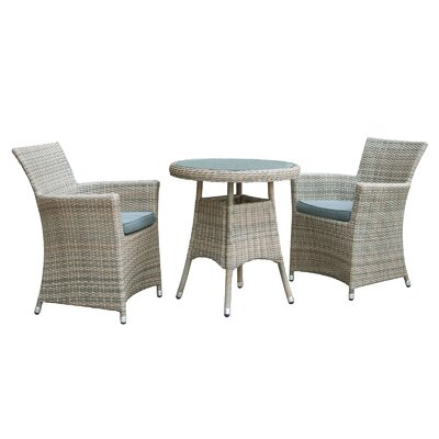 Cozy Bay Eden 2 Seater Dining Set