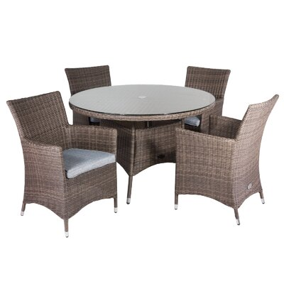 Cozy Bay Hawaii 5 Piece Dining Set
