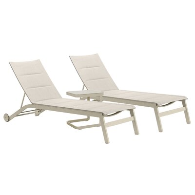 Cozy Bay Verona 3 Piece Sun Lounger Set