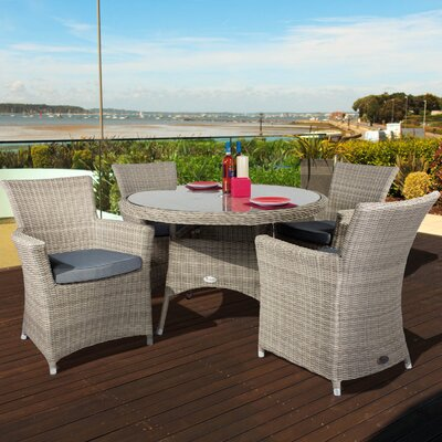 Cozy Bay Eden 4 Seater Dining Set