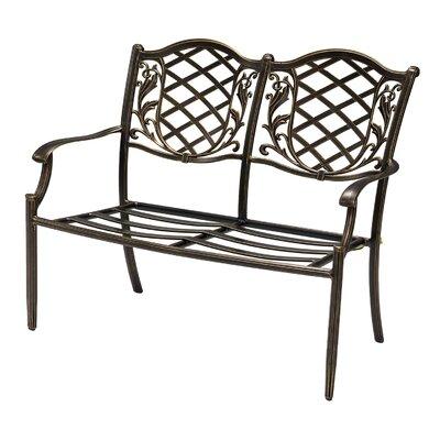 Cozy Bay Casa 2 Seater Alumunium Bench