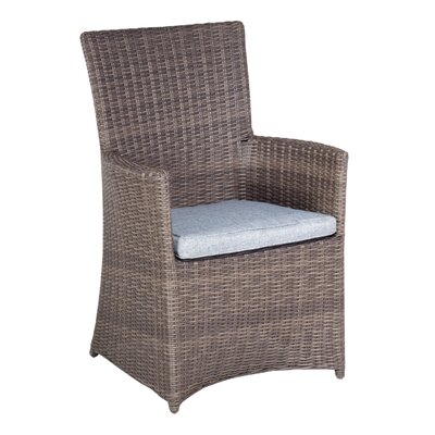 Cozy Bay Hawaii Dining Arm Chair with Cushion