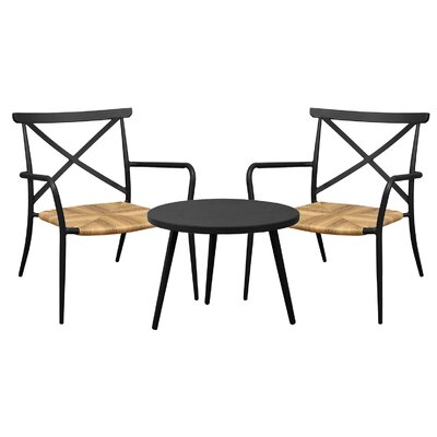 Cozy Bay Milos 3 Piece Bistro Set