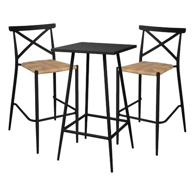 Cozy Bay Milos 2 Seater Bar Set