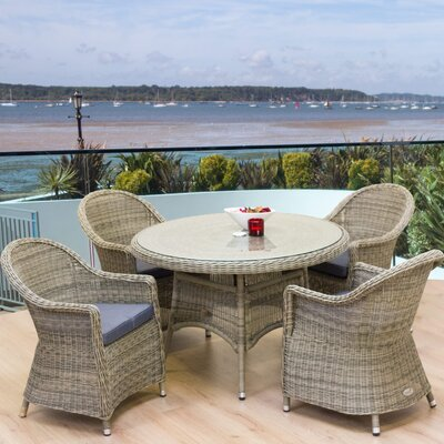 Cozy Bay Hampton 4 Seater Bistro Set