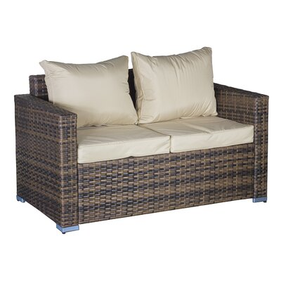 Cozy Bay Oxford Sofa with Cushions