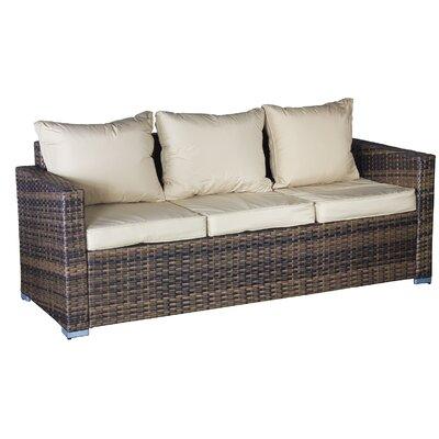 Cozy Bay Oxford Sofa with Cushions