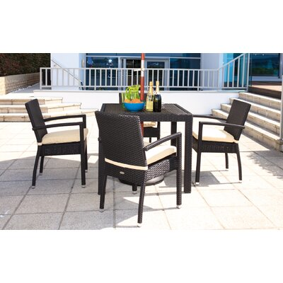 Cozy Bay Cumberland 4 Seater Dining Set with Cushions
