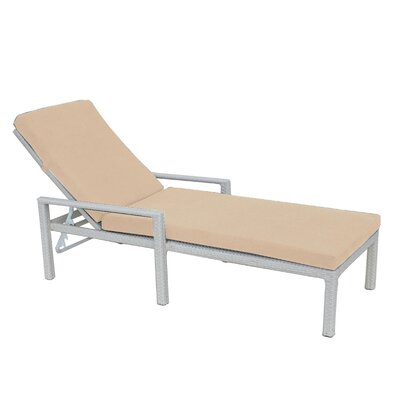 Cozy Bay Similan Reclining Sun Lounger with Cushion