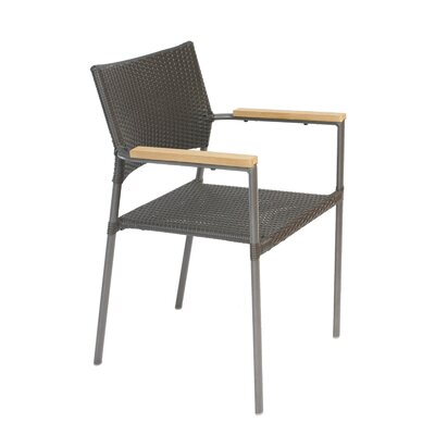 Cozy Bay Stacking Dining Arm Chair