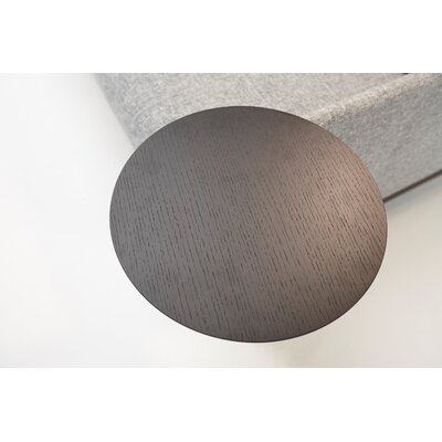 Innovation 58 cm H  x 36 cm B Tischplatte Neat/Noir