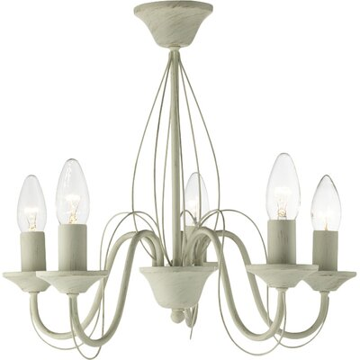 House Additions 5 Light Candle Mini Chandelier