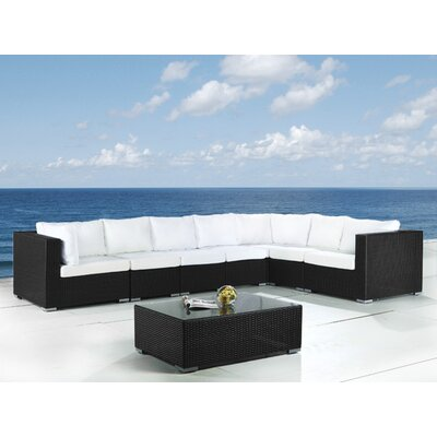 Home Essence Grande 8 Seater Sectional Sofa Set with Cushions