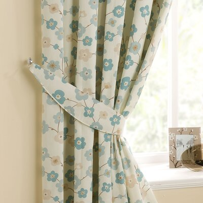 Home Essence Cherry Blossom Curtain Tieback