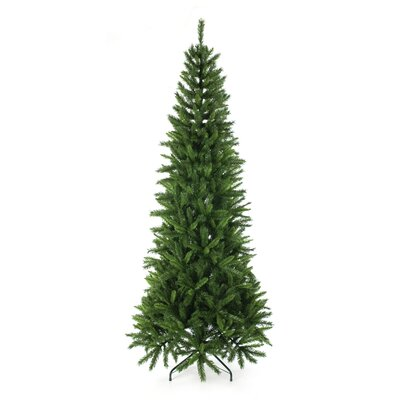 Home Essence Christmas Tree 2.25M(7.5Ft) Regency Slim Green Fir